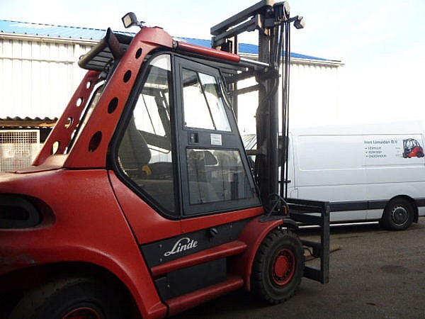 Occassion heftruck Linde H80D 2